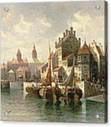 Kieler Canal Acrylic Print