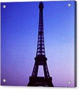 La Tour D'eiffel Acrylic Print