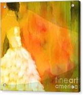 Last Dance Acrylic Print by Hilda Lechuga