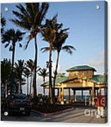 Lauderdale By The Sea Acrylic Print