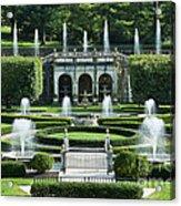Longwood Gardens Fountains Acrylic Print