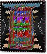 Magic Lamp Lights Up And Ask For 3 Wishes Chant 3 Times Jaag Jaag Kismat Acrylic Print