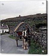 Making A Living On Inishmore - Aran Islands - Ireland Acrylic Print by Nina-Rosa Duddy
