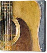 Martin Guitar D-28  Acrylic Print