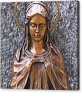 Mary Daughter Of Joachim Acrylic Print