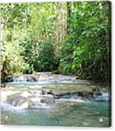 Mayfield Falls Jamaica Acrylic Print