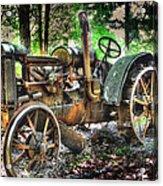 Mccormick Deering Tractor Acrylic Print