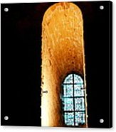 Meditation - Deep Window Mont St Michel Acrylic Print