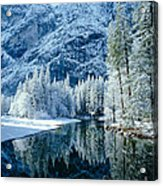 Merced River Reflection 2 Acrylic Print