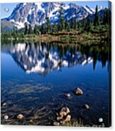 Mt. Shuksan Reflected In Picture Lake Acrylic Print