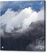 Mt. Bierstadt In The Clouds Acrylic Print