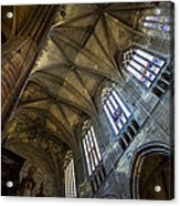 Narbonne Cathedral Acrylic Print