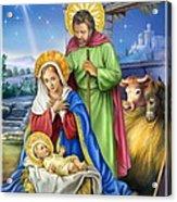 Nativity Of Jesus Acrylic Print
