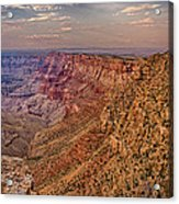 Navajo Viewpoint In Grand Canyon National Park Acrylic Print