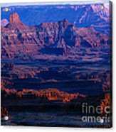 Needles Overlook  Acrylic Print