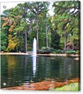 Norfolk Botanical Gardens 2 Acrylic Print
