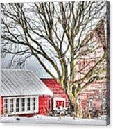 Oak Valley Farm Acrylic Print