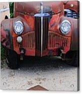 Old Old Car Acrylic Print