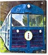 Old Train Acrylic Print