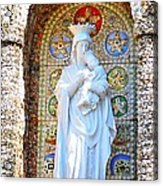 Our Lady Of Perpetual Help Mary And Jesus Acrylic Print