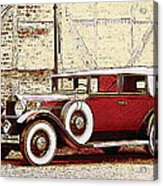 Packard Standard Eight Convertible Acrylic Print