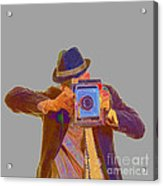 Paparazzi Acrylic Print