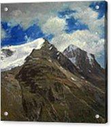 Peaks In The Rockies Acrylic Print