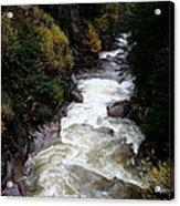 Pemigewasset River White Mountains Acrylic Print