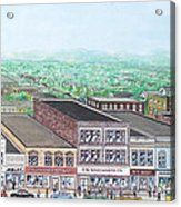 Portsmouth Ohio 1948 Dime Store Row 3rd To 4th Acrylic Print