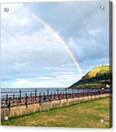 Rainbow Over Bray Head Acrylic Print
