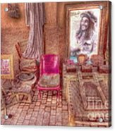 Rasta King At Marakech Acrylic Print by George Paris