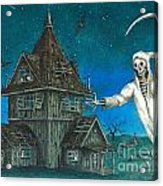 Reaper At Midnight Acrylic Print