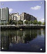 River Nervion Panorama Acrylic Print