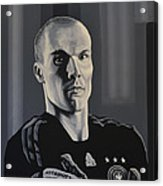 Robert Enke Acrylic Print by Paul Meijering