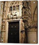 Saint Mark And Lion  Acrylic Print