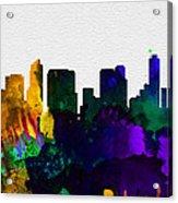 San Diego City Skyline Acrylic Print
