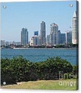San Diego Viewed From Coronado Island Acrylic Print