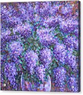 Scented Lilacs Bouquet Acrylic Print