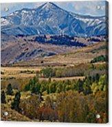 Sierras Mountains Acrylic Print