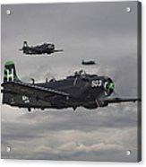 Skyraiders - Va155 Acrylic Print