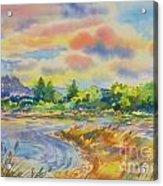 South Platt Water Color Acrylic Print