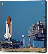 Space Shuttle Roll-around Acrylic Print
