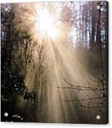 Sunrise Of Faith Acrylic Print