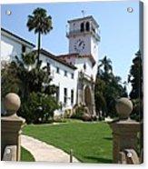Santa Barbara Courthouse Acrylic Print