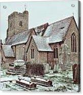St Mary And All Saints Boxley Acrylic Print