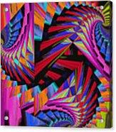 Stairs Acrylic Print by Soumya Bouchachi