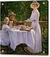 Summer Afternoon Tea Acrylic Print