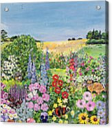 Summer From The Four Seasons Acrylic Print