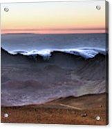 Sunrise At Haleakala Crater, Maui Acrylic Print