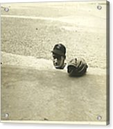 Ted Williams Acrylic Print by Diane Diederich